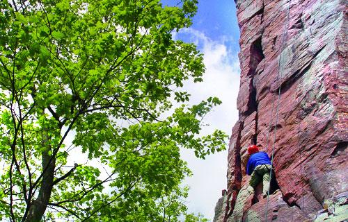 devil u2019s lake  wi rock climbing  u0026 camping