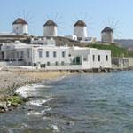 Mykonos Kayak Tour - Windmills on Mykonos